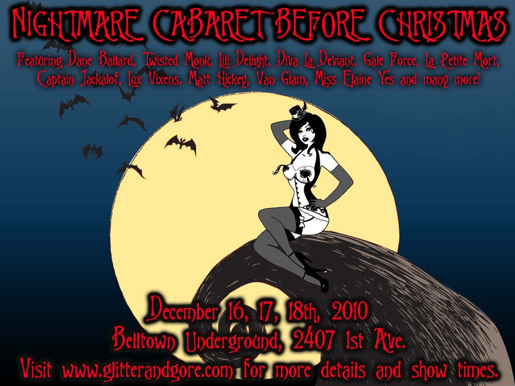 Nightmare Cabaret Before Christmas
